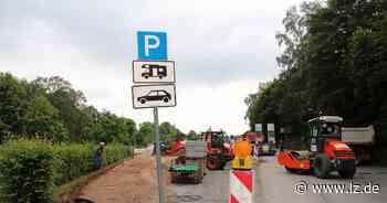 Wohnmobilstellplatz am Ostring wird schön gemacht | Lokale Nachrichten aus Blomberg - Lippische Landes-Zeitung