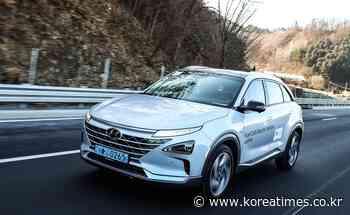 Hyundai drops hint at Japan entry with Nexo - koreatimes
