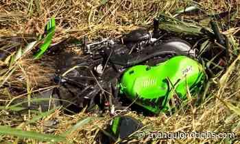 Motociclista morre após bater em caminhonete na zona rural de Lagoa Formosa - Triângulo Notícias - TN