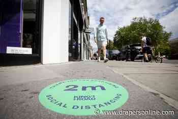 London stores struggling after lockdown lift
