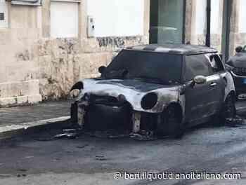 Casamassima, auto in fiamme in via Amendola: arrestato 24enne - Il Quotidiano Italiano - Bari