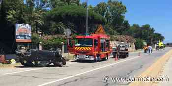 Un blessé grave dans un violent accident de la route à Grimaud - Var-Matin