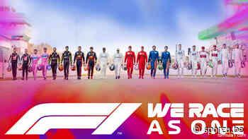 """""""We Race as One"""": Formule 1 bedankt hulpverleners met regenboog - sporza.be"""