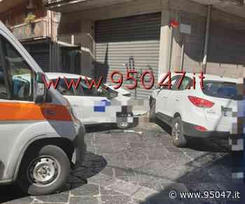 GRAVE INCIDENTE STRADALE A MISTERBIANCO, TRE FERITI - 95047
