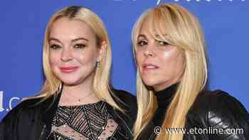 Lindsay Lohan Reaction to Dina Lohan Engagement to a Man She's Never Met in Person - Entertainment Tonight