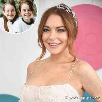 Here's Why Lindsay Lohan Is Sparking Parent Trap Reunion Rumors - E! Online