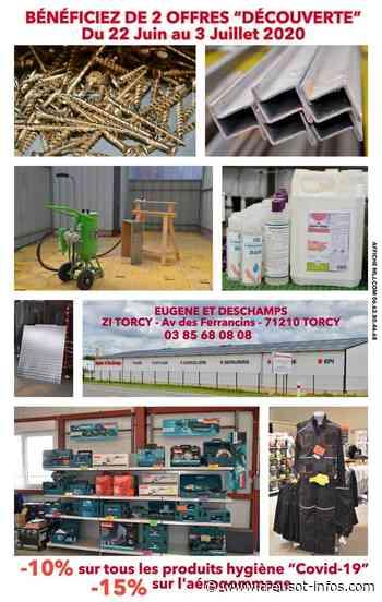 TORCY : «Eugène et Deschamps» (produits métallurgiques, quincaillerie, EPI, outillage…) vous propose deux nouveaux services - Creusot-infos.com