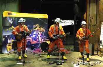 Vales Creighton Mine hosts World's Deepest Underground Music Concert - SteelGuru