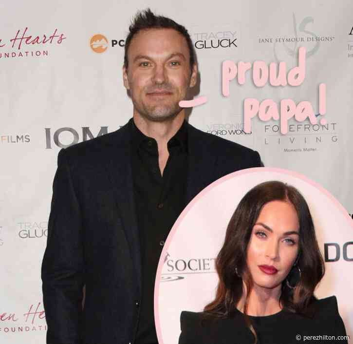 Brian Austin Green Celebrates Father's Day With Three Of His Sons After Megan Fox Split!