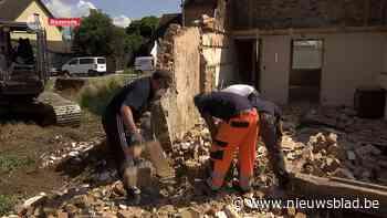 Opnieuw sloopwerken in Briel in Baasrode