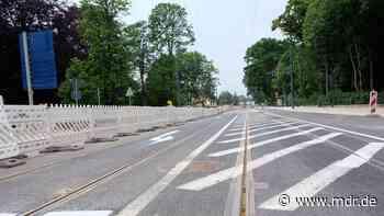 Straßenbahnen fahren wieder durchgängig nach Radebeul und Coswig - MDR