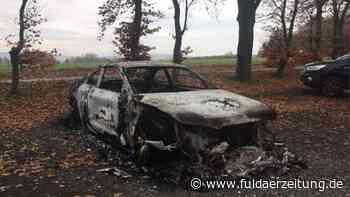 Eichenzell: Ermittler lösen wohl Rätsel um ausgebranntes Autowrack - Fuldaer Zeitung