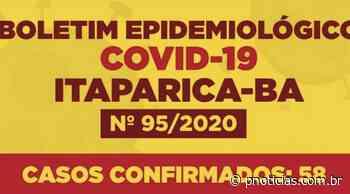 Itaparica tem 58 casos confirmados de Covid-19 e 3 óbitos - PNotícias