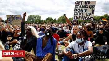 Black Lives Matter protests held across England