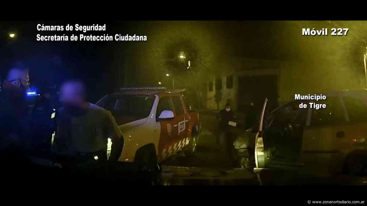 Don Torcuato: alcoholizado, un conductor perdió el control de su vehículo y chocó contra una columna - Zona Norte Diario OnLine