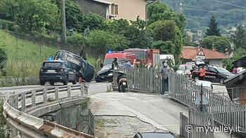 Incidente a Sovere, si ribalta un'automobile - MyValley.it