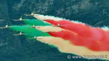 Le Frecce Tricolori si allenano nei cieli di Ghedi - Brescia Oggi