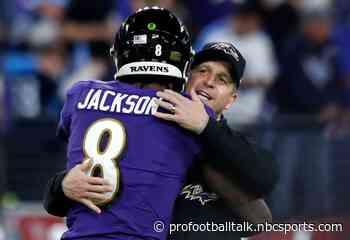 John Harbaugh disagrees with Lamar Jackson over reason for Ravens' loss
