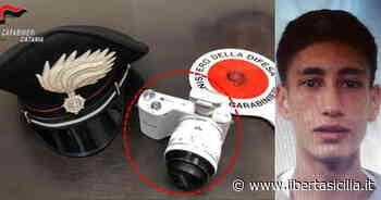 Paterno. Pur di rubare una macchina fotografica scaraventa il proprietario dal balcone: autore in manette - Libertà Sicilia