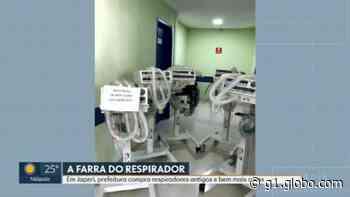 Japeri constrói hospital de campanha e gasta mais de R$ 1,8 milhão em respiradores obsoletos, segundo especialistas - G1