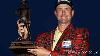 Webb Simpson wins RBC Heritage as England's Tyrrell Hatton ties for third