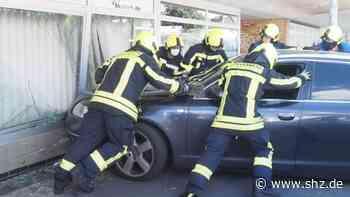 Uetersen: Autofahrer verliert Bewusstsein und prallt gegen eine Hauswand | shz.de - shz.de
