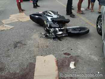 Acidente em Matriz de Camaragibe deixa dois feridos em estado grave - Gazetaweb.com