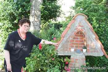 Mariabeeldje plots verdwenen uit voortuin van Brigitte (74):... (Hove) - Het Nieuwsblad