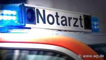 Motorradfahrer aus Kreuztal bei Unfall schwer verletzt - Westfalenpost