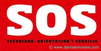 Aseguran auto desvalijado en Emiliano Zapata - Diario de Morelos