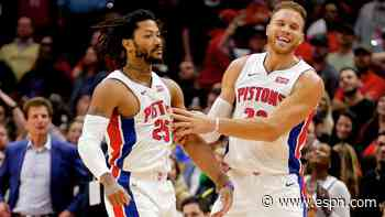 Griffin, Rose still part of Pistons' plans, GM says