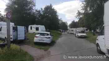 À Wavrin, une cinquantaine de caravanes se sont installées autour de la salle polyvalente - La Voix du Nord