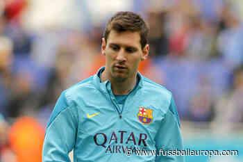 Lionel Messi nach Ausraster: Bilder zeigen lange Schürfwunde - Fussball Europa