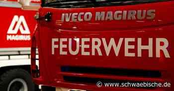 Unbekannter steckt Auto in Lauchheim in Brand - Schwäbische