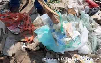 Localizan nuevamente desechos infecciosos en tiradero clandestino de Llano Largo - El Sol de Acapulco