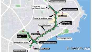 Qatar- One lane closure in one direction on parts of Omar Al Mokhtar Street, Al Bidda Street and Al Markhiya Street - MENAFN.COM