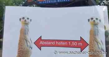 Tierpark in Alsdorf: Sechs Wochen Betrieb im Corona-Modus - Aachener Zeitung