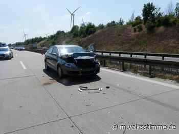 Polizei Drei Verletzte nach Unfall auf A14 - Volksstimme