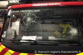 Valentigney : un camion de pompiers caillassé lors d'une intervention - France 3 Régions