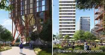 OMA plans 'morden wharf' neighborhood for greenwich peninsula in london - Designboom