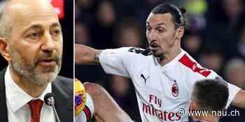 Zlatan Ibrahimovic sauer: «Das ist nicht mehr mein Milan» - Nau.ch