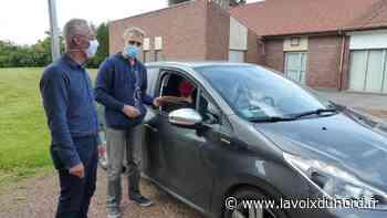 Beuvry: pas de ruée sur les masques pour la dernière distribution - La Voix du Nord