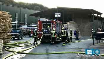 Finnentrop: Feuer in Sägewerk sorgt für Großeinsatz - Westfalenpost