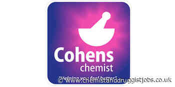Cohens Chemist: Relief Pharmacist (who are on the Provisional Register)