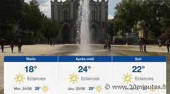 Météo Saint-Etienne: Prévisions du mardi 23 juin 2020 - 20minutes.fr