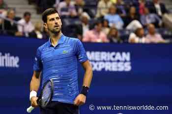 """Novak Djokovic: """"Ich bin begeistert von den US Open, aber... """" - Tennis World DE"""