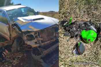 Motociclista de Patos de Minas morre em acidente próximo a comunidade do Leal - Patos Já