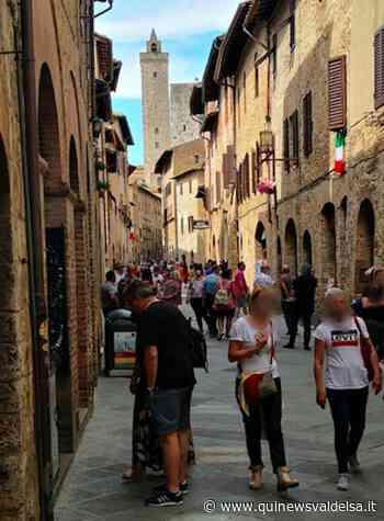 Tornano i turisti a San Gimignano, anche stranieri - Qui News Valdelsa