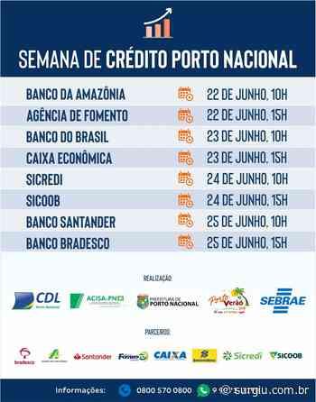 Sebrae promove orientações de crédito para empresários do Jalapão e Porto Nacional - Surgiu