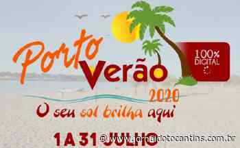 """Porto Nacional anuncia versão digital da temporada de praia """"Porto Verão"""" - Jornal do Tocantins"""